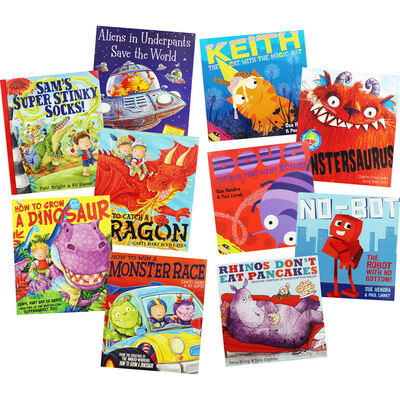 Mythical Creatures: 10 Kids Picture Books Bundle image number 1