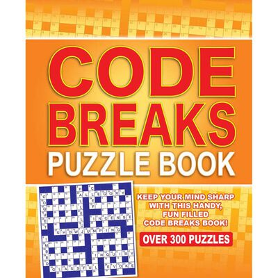 Code Breaks Puzzle Book: Over 300 Puzzles image number 1