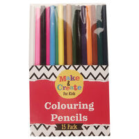 Colour Pencils - Pack Of 15