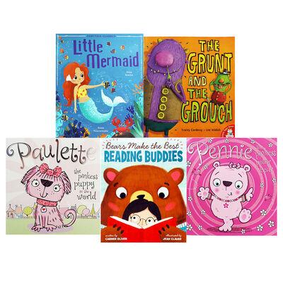 Reading Delight - 10 Kids Picture Books Bundle image number 3
