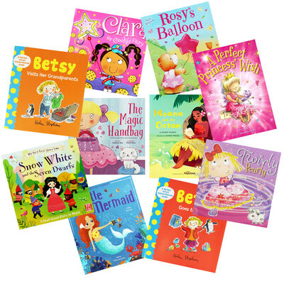 Girlie Fun - 10 Kids Picture Books Bundle image number 1
