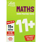 Letts Maths: Quick Practice Tests 11+ image number 1