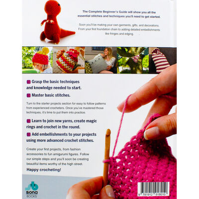 The Complete Beginner's Guide To Crochet image number 4