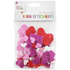 Assorted EVA Heart Shapes - Pack Of 120 image number 1