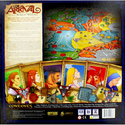 The Arrival Board Game image number 4