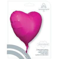 18 Inch Pink Heart Helium Balloon
