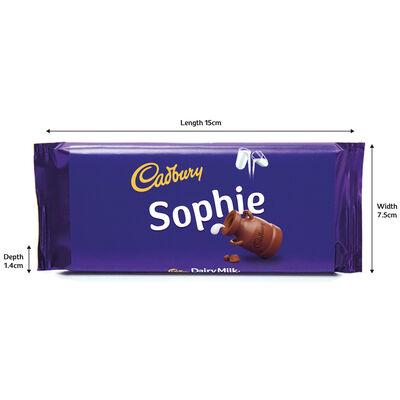 Cadbury Dairy Milk Chocolate Bar 110g - Sophie image number 3