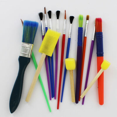 Assorted Brushes: Pack Of 15 image number 2