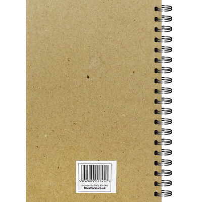 A5 Spiral Bound Lined Notebook image number 3