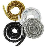 Glitter Craft Trim - Bundle of 4