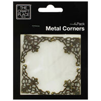 Metal Corners: Pack of 4