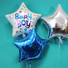 18 Inch Blue Star Helium Balloon image number 3