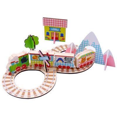 Wooden Train Set image number 2
