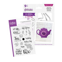 Gemini Create a Card - Time for Tea Collection