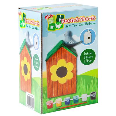 Paint Your Own Birdhouse image number 1