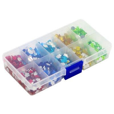 Mini Gemstones in Organiser - Assorted image number 2