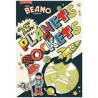 Beano Glow In The Dark Planets and Rockets Stickers image number 1