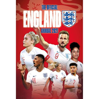The Official England Football Team Annual 2021 image number 1