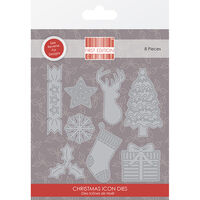 Christmas Icons Build a Scene Metal Die Set