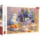 Blue Bouquet 1000 Piece Jigsaw Puzzle image number 1