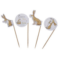 Guess How Much I Love You Cupcake Picks - Pack of 20