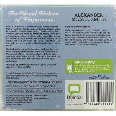 The Novel Habits of Happiness: MP3 CD image number 2
