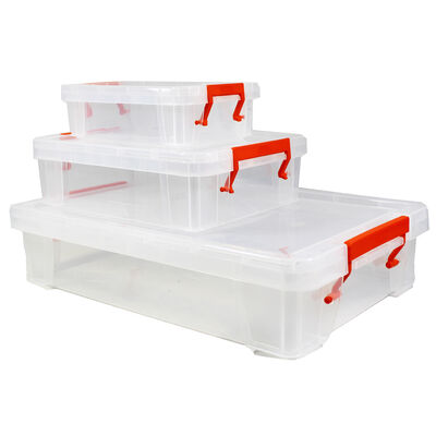 Shallow Storage Box - Set of 3 image number 3