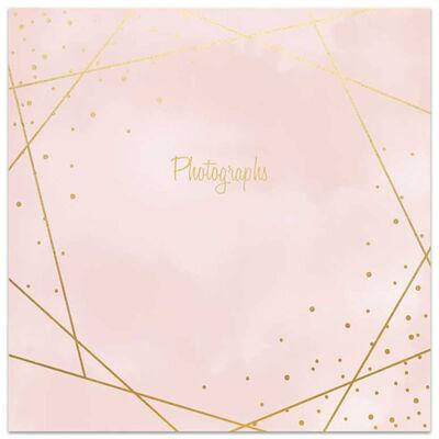 Rose Gold Foil Line Slip-In Photo Album image number 1