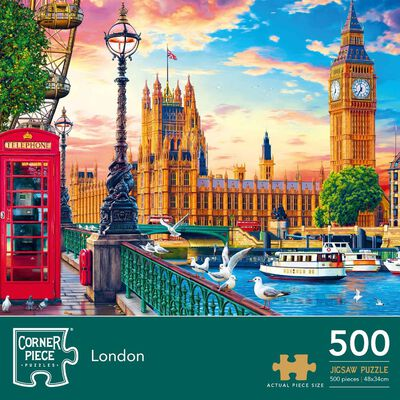 London 500 Piece Jigsaw Puzzle image number 1