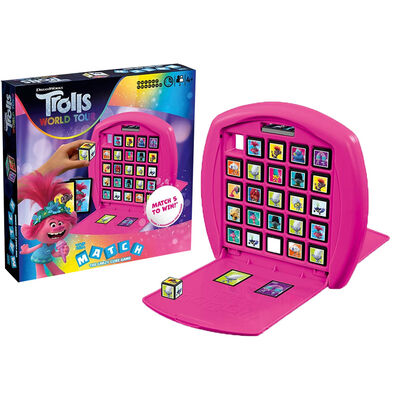 Trolls 2 - Top Trumps Match Board Game image number 2