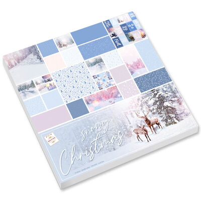Snowy Christmas Paper Pad image number 1