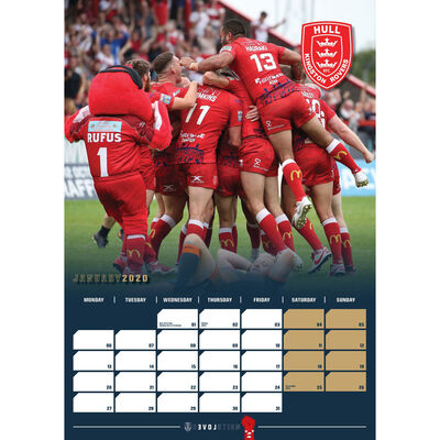 Hull Kingston Rovers Official 2020 Calendar image number 2