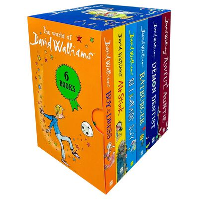 The World of David Walliams: 6 Book Box Set image number 1