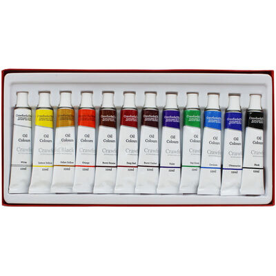 Oil Colours - Set Of 12 image number 1