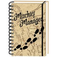 A5 Harry Potter Mischief Managed Notebook