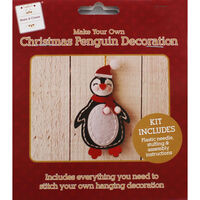 Stitch Your Own Christmas Penguin Decoration