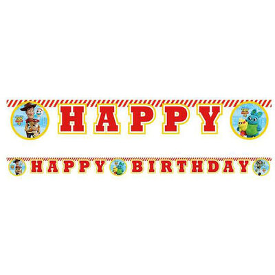 Toy Story Happy Birthday Letter Banner image number 2