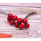 Red Faux Berries - Pack of 10 image number 3