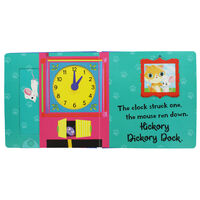 Hickory Dickory Dock: Push, Pull and Pop Book