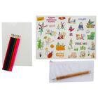 Roald Dahl Sticker Your Own Stationery Set image number 2
