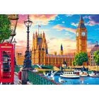 London 500 Piece Jigsaw Puzzle image number 2