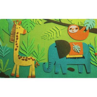 Jungle Felt Play Set image number 2