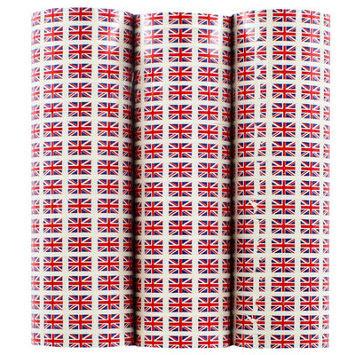 3 Union Jack 4m Paper Streamers image number 1