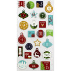 Advent Numbers Thick Christmas Stickers image number 2