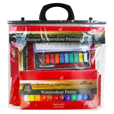 Bumper Watercolour Painting Set image number 1