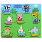 Peppa Pig Wooden 8 Piece Jigsaw Puzzle image number 1