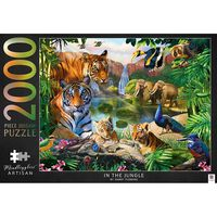 Mindbogglers Artisan In the Jungle 2000 Piece Jigsaw Puzzle
