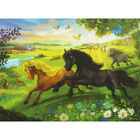 Black Beauty 100 Piece Jigsaw Puzzle and Book Set image number 3