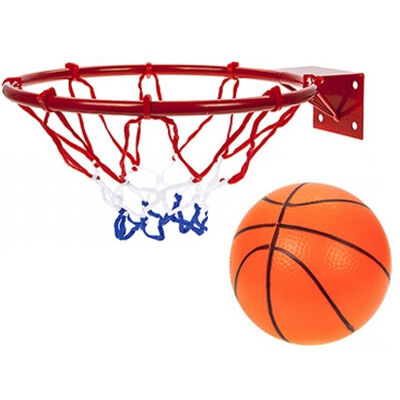 Metal Basket Ball Hoop With Ball image number 1