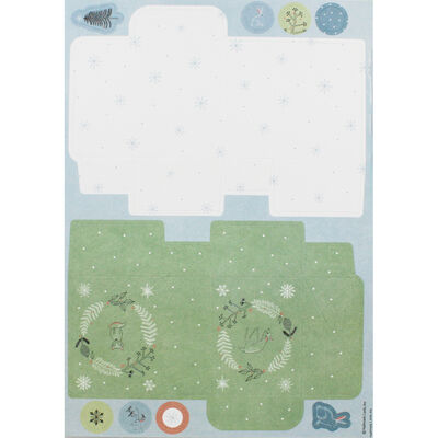 Winter Woodland A4 Ultimate Die-Cut and Paper Pack image number 2